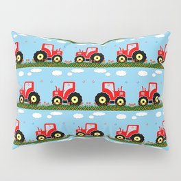Toy tractor pattern Pillow Sham