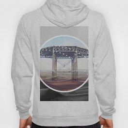 Surreal Bridge - circle graphic Hoody