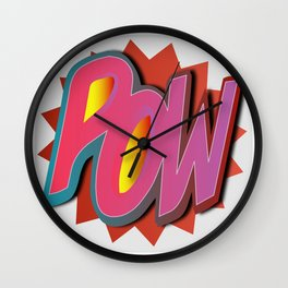 POW Wall Clock