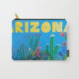 Arizona Cactus Wonderland Carry-All Pouch