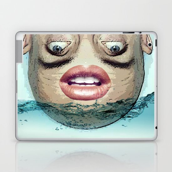 Head above Laptop & iPad Skin
