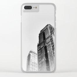 New York cj Clear iPhone Case