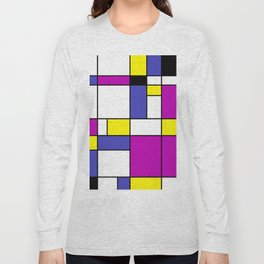 Neoplasticism Long Sleeve T-shirt