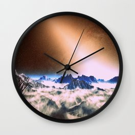 Let There Be Light : Exozodiacal Light on Alien Planet Wall Clock