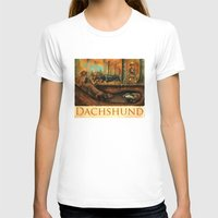 dachshund T-shirts featuring Dachshund by Jeff Crosby