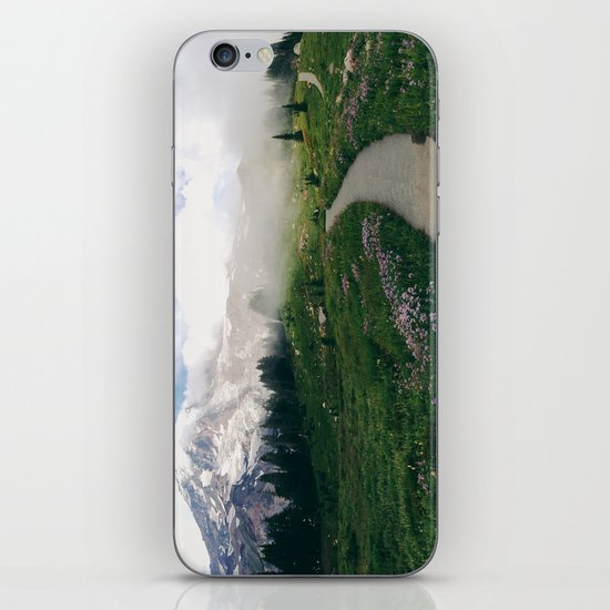 Mt Rainier Path iPhone & iPod Skin