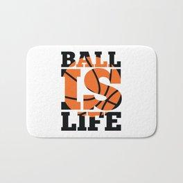 Ball is Life Bath Mat