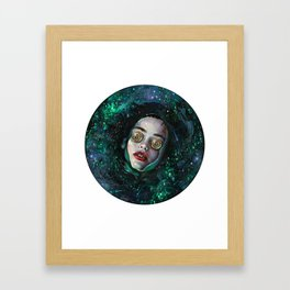 Crypto Styx Framed Art Print
