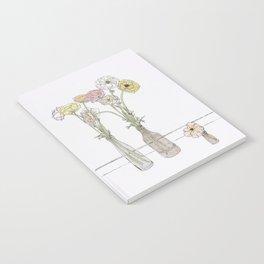 Long-stem florals Notebook