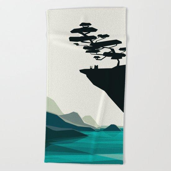 beauty trumped vertigo Beach Towel