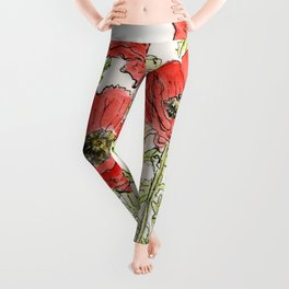 Poppies Leggings