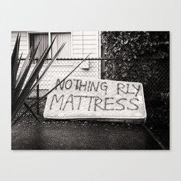 /// what really matters Canvas Print