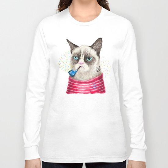 Sailor Cat II Long Sleeve T-shirt
