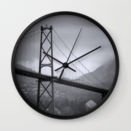 Lion's Gate Wall Clock
