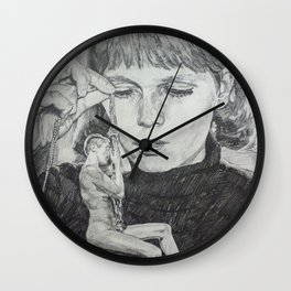 Oh Guy! It's Perfect! Wall Clock