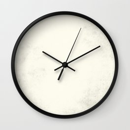Tribal Ivory Cream Wall Clock