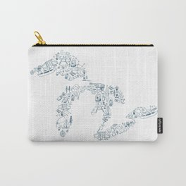 Great Lakes Up North Collage Carry-All Pouch