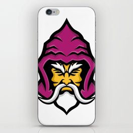 Wizard Head Front Mascot iPhone Skin