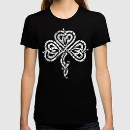 Pretty Irish Celtic Knot Shamrock graphic T-shirt
