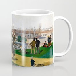 Edouard Manet - View of the Universal Exhibition of Paris - Digital Remastered Edition Coffee Mug