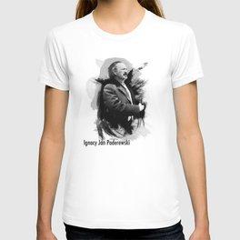 Ignacy Jan Paderewski - Polish Prime Minister, Polish Pianist T-shirt