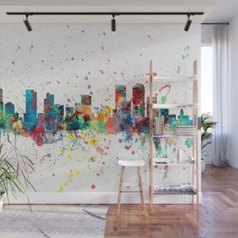Denver Colorado Skyline Wall Mural