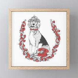 The Great Fox Hunt- Mr. Matthews Framed Mini Art Print