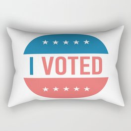 I voted sticker #society6 #decor #buyart #artprint Rectangular Pillow