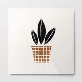 Potted Plant 2 Metal Print