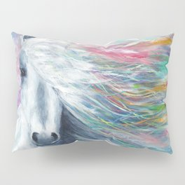 Rainbow Horse Pillow Sham
