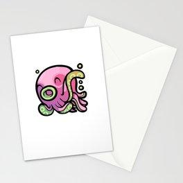 Pink Gorilla X Enfu Octopus Stationery Cards