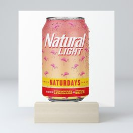 Naturday Mini Art Print