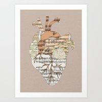 Sound Of My Heart Art Print