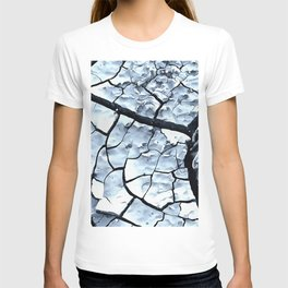 Cracked Dreams in Blue T-shirt