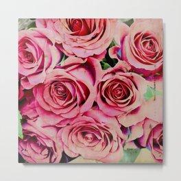 Romantic Roses Metal Print