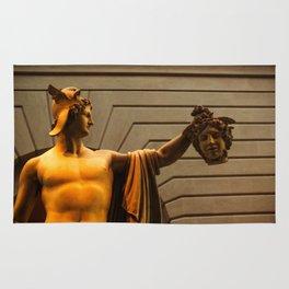Perseus with Medusa's Head Rug