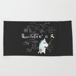 Unicorn = real Beach Towel