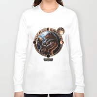 werewolf Long Sleeve T-shirts featuring WEREWOLF by TheMagicWarrior