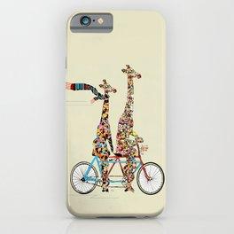 giraffe days lets tandem iPhone Case