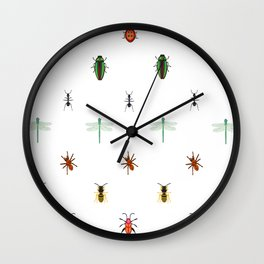 Insectes Wall Clock