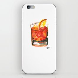 Negroni Cocktail Hour iPhone Skin