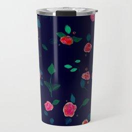 Dark rose Travel Mug