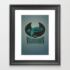 Romulan Warbirds Framed Art Print