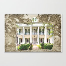 Sturdivant Hall, Selma Alabama Canvas Print