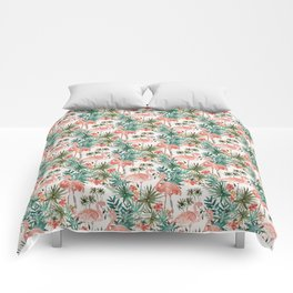 FLAMINGO PARADISE Comforters