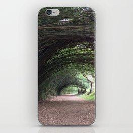 bamboo tunnel iPhone Skin