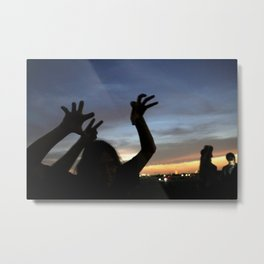 monster shadow twighlight Metal Print