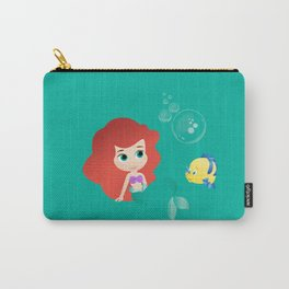 Baby Little Mermaid Carry-All Pouch