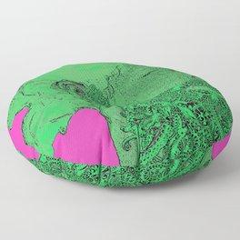 Hipster Neptune - Seaweed Floor Pillow