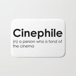 cinephile Bath Mat